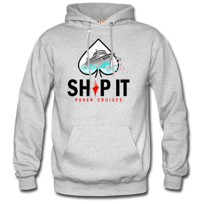SHIP IT POKER HOODIE