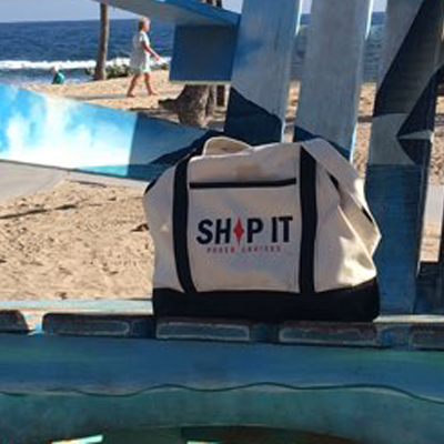 SHIP IT TRAVEL BAG